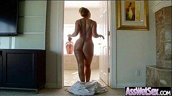 Round Huge Butt Girl (aj savannah) In Hardcore Style Anal Sex Tape clip-02