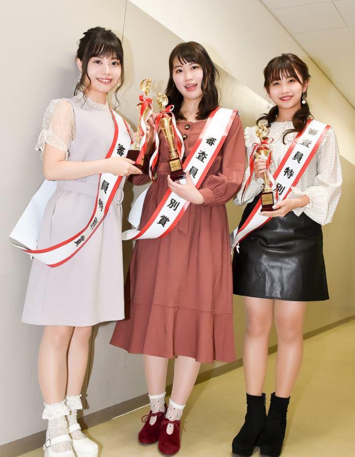 中野唯、森千瑛香、西村未来望(C)モデルプレス