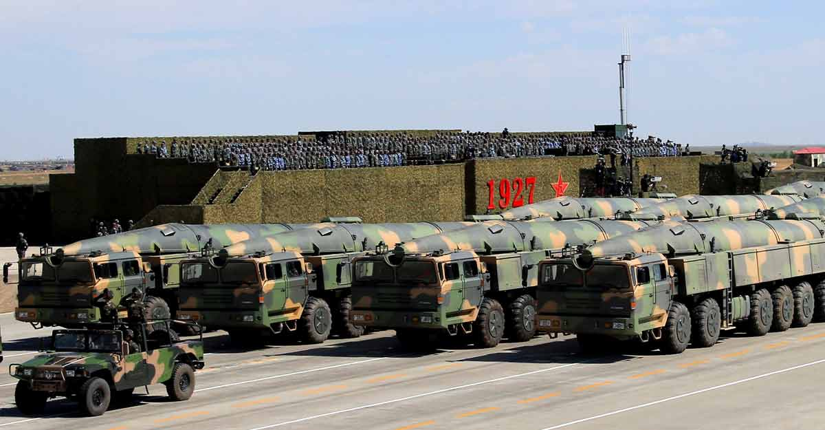 China builds underground chambers to store nuclear weapons;  New Challenge |  China nuclear weapon