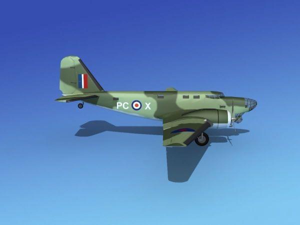 Douglas -18a Bolo V14 3d Model