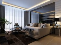 3D Living and Dining Room 02 | CGTrader