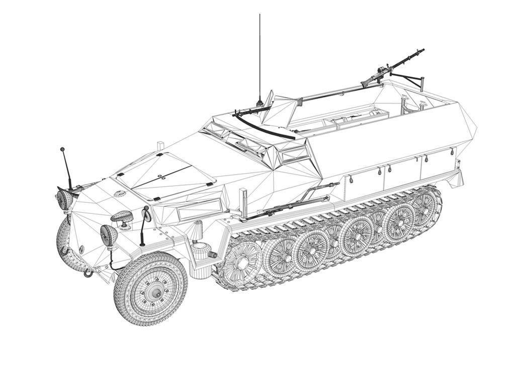 Sd Kfz 251 1