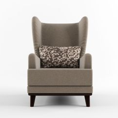 Armchair Pillow Step 2 Table And Chair Set With Headrest 3d Model Max Obj Fbx