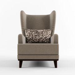 Armchair Pillow Xl Zero Gravity Lounge Chair With Headrest And 3d Model Max Obj Fbx