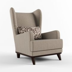 Armchair Pillow Custom Indoor Chair Cushions With Headrest And 3d Model Max Obj Fbx