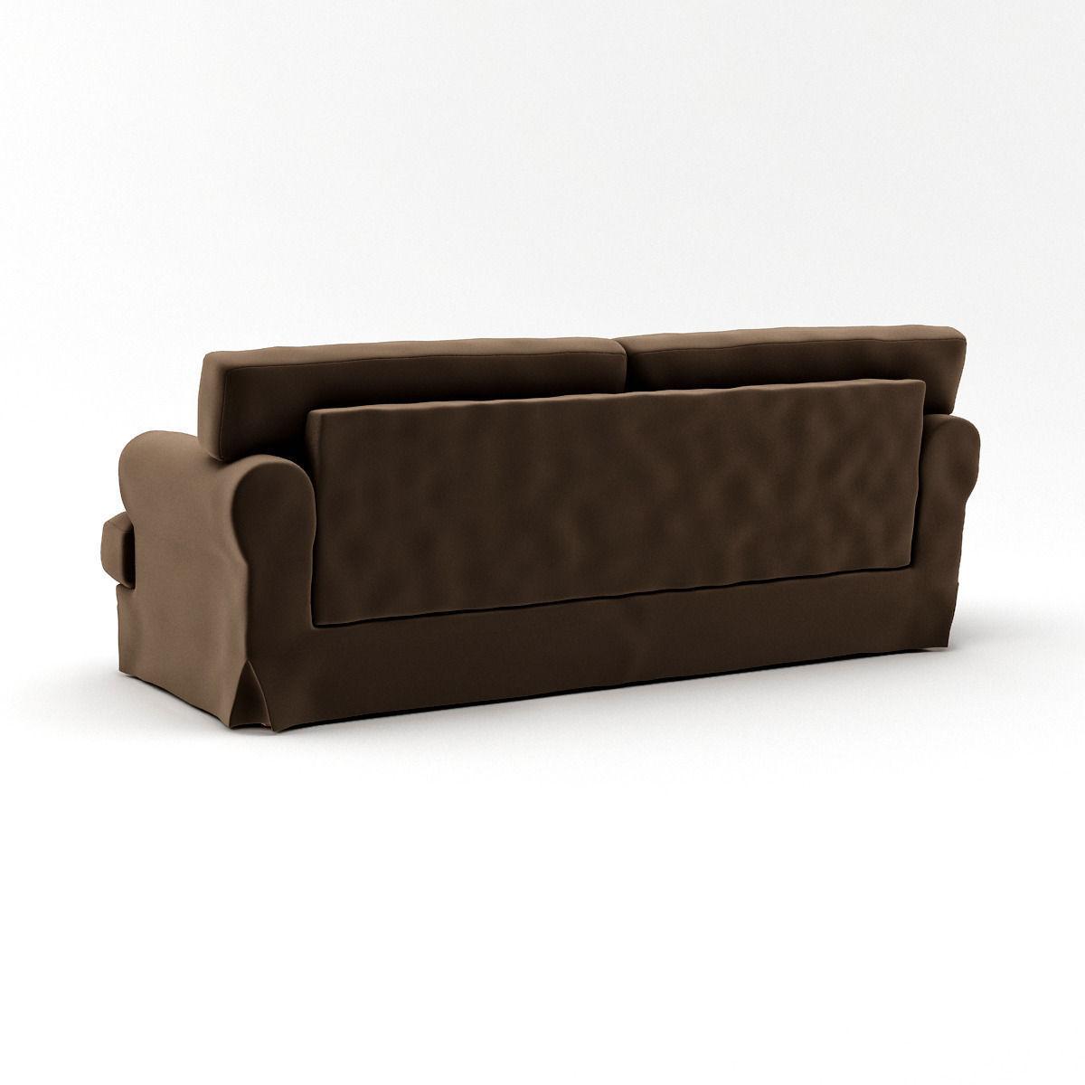 ikea ekeskog sofa for sale ashley furniture 3d model max cgtrader