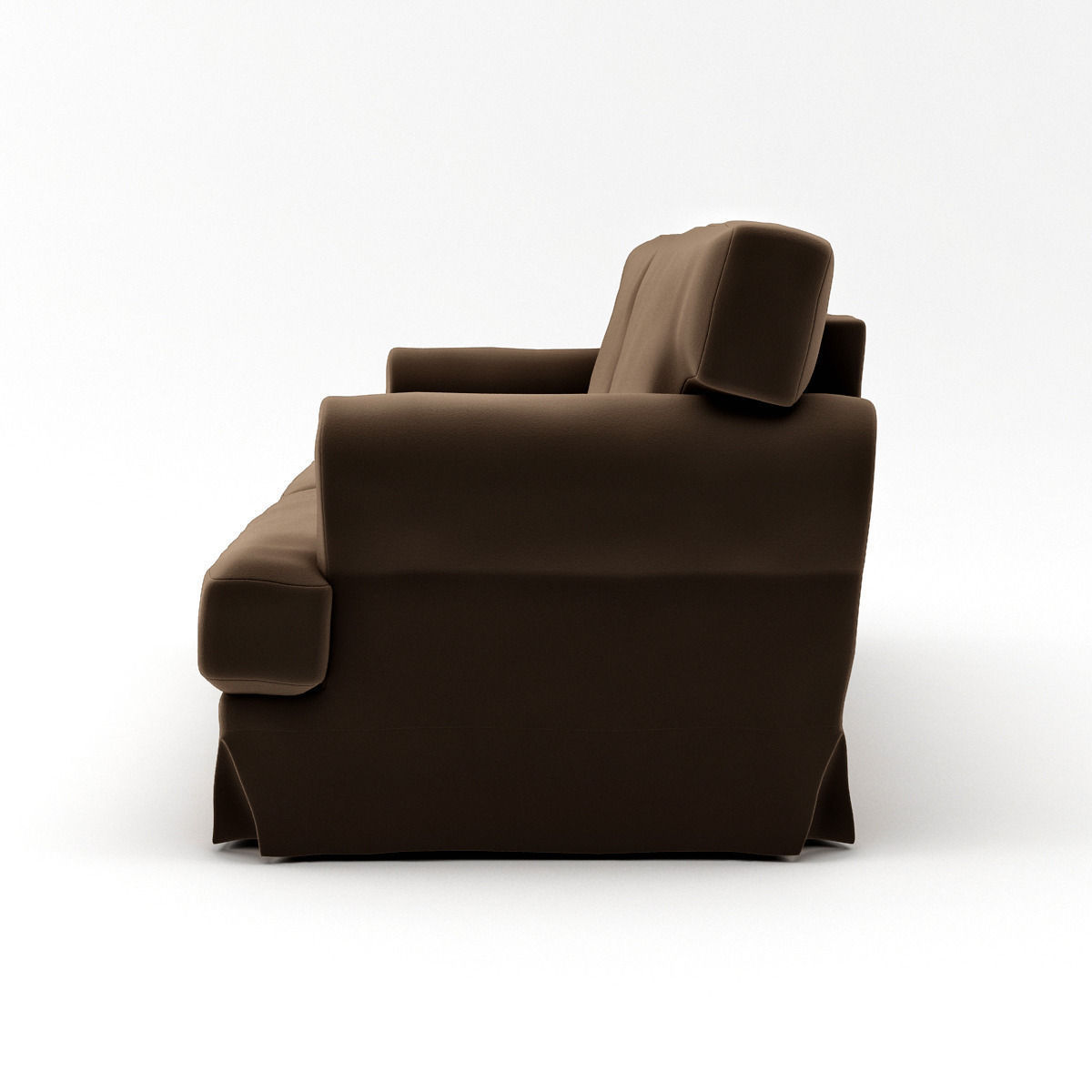 ikea ekeskog sofa for sale ballard designs sectional 3d model max cgtrader