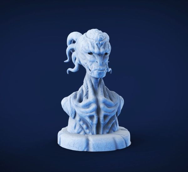 Demon Sculpture 3d Model Printable Stl