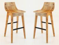 wooden bar stool 3D Model MAX - CGTrader.com