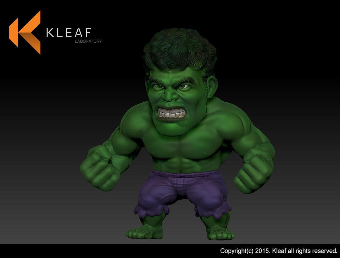 Hulk 3D Printing 3D Model 3D printable stl  CGTradercom