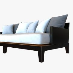 Holly Hunt Sofa Cost L Shaped Leather Images Christian Liaigre For Opium 3d Model Max