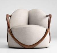 Giorgetti Hug armchair 3D Model MAX OBJ | CGTrader.com
