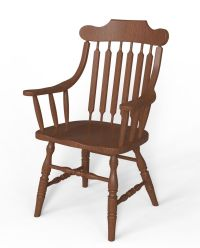 Bent Wood Arm Chair 3D Model .obj