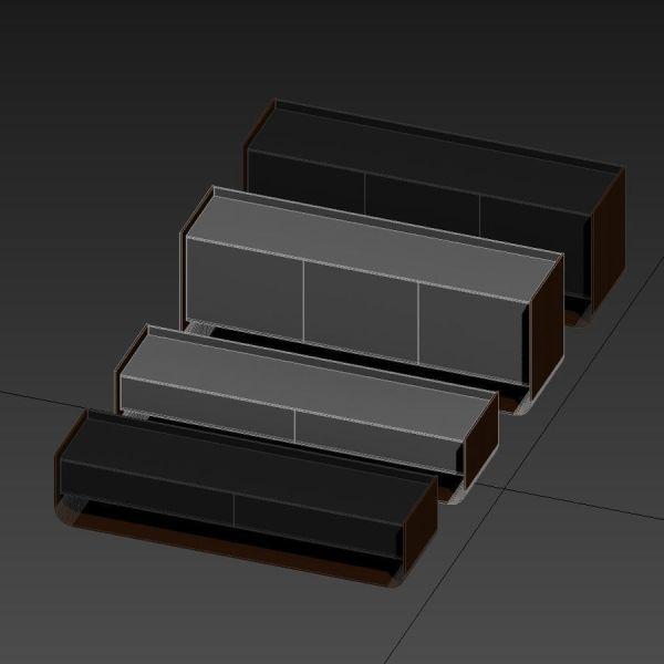 Livingroom Furniture Stem Eric Jourdan 3d Model Max Obj