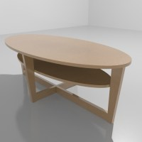 IKEA - VEJMON coffee table 3D Model .max - CGTrader.com