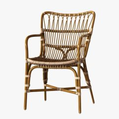 Rattan Arm Chair How To Slipcover A Retro Dining 3d Model Max Obj 3ds Fbx