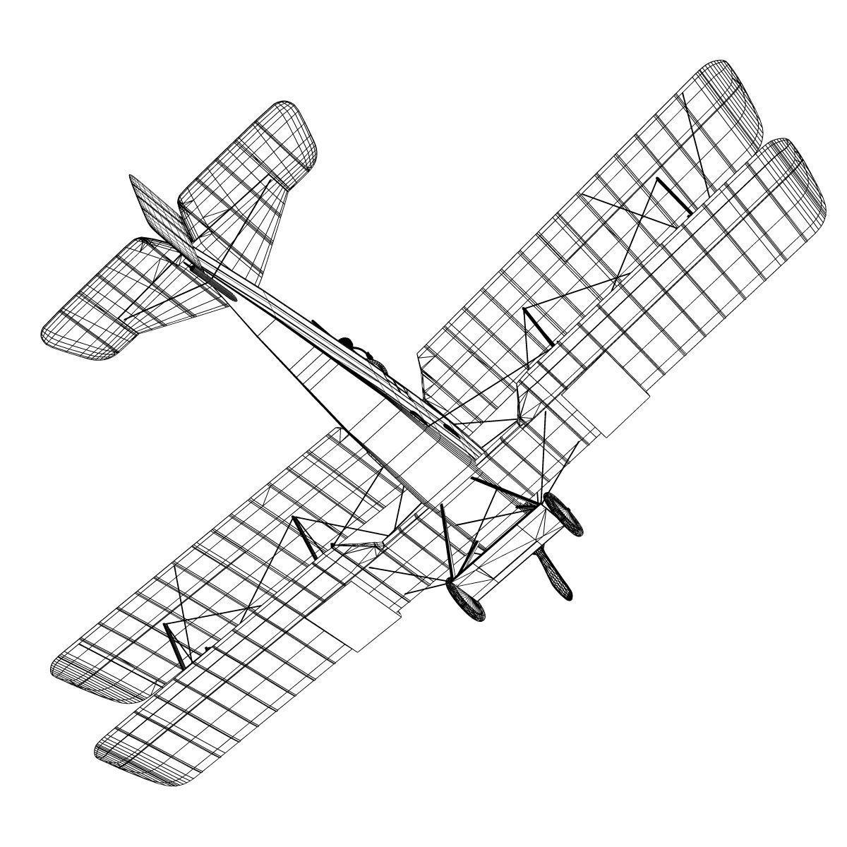 Breguet 14 B2 3D Model .max .obj .3ds .fbx .c4d .lwo .lw