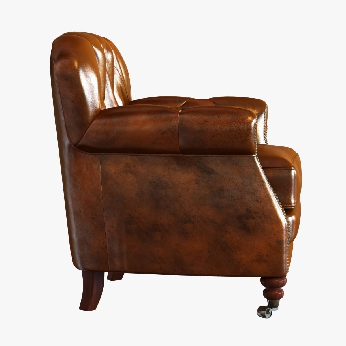 noir furniture chairs topcon chair and stand club vintage cigar leather 3d model