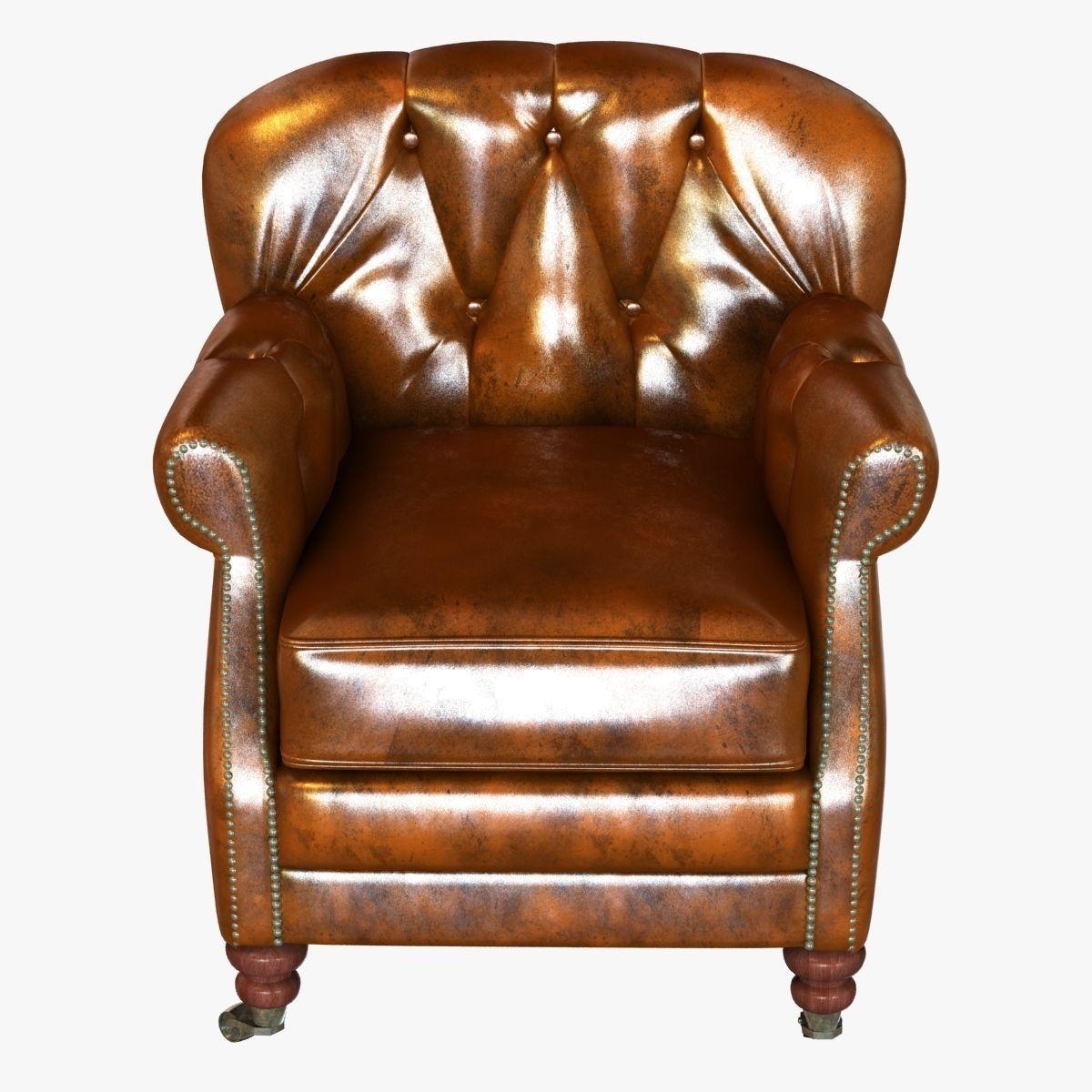 noir furniture chairs pet high chair club vintage cigar le 3d model