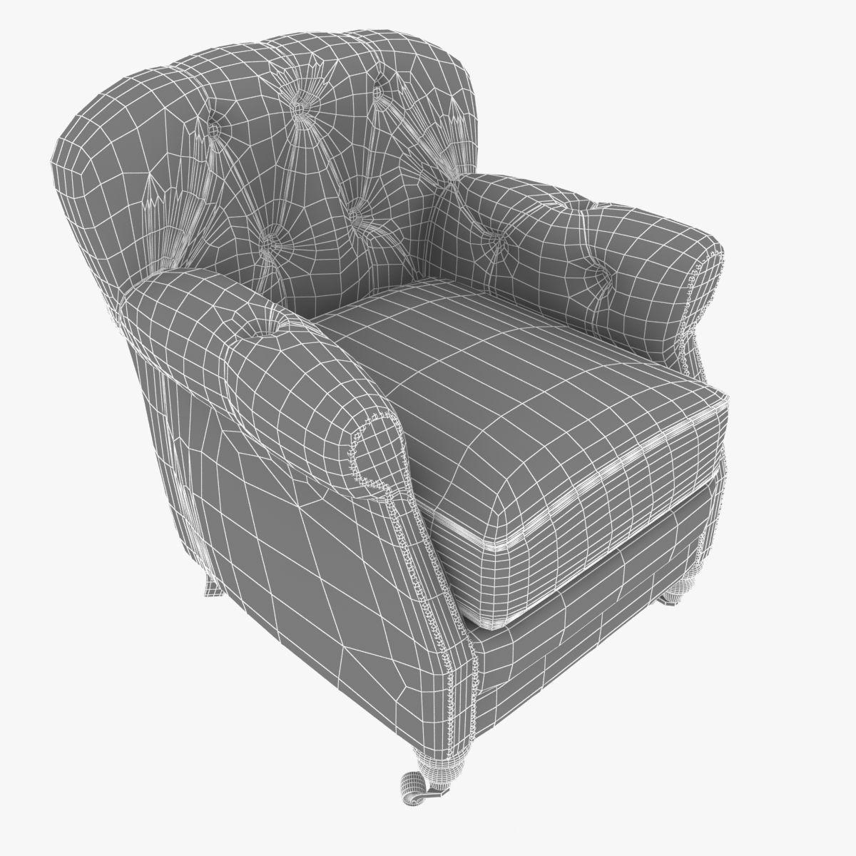 noir furniture chairs chair yoga video club vintage cigar le 3d model