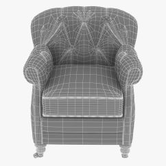 Noir Furniture Chairs Chair Lift Stairs Medicare Club Vintage Cigar Le 3d Model