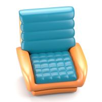 Futuristic design chair 3D Model .obj .fbx .stl .blend ...