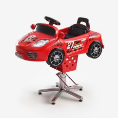 Kids Car Barber Chair Neutral Posture Manual Children Electric Ride On 3d Model Game