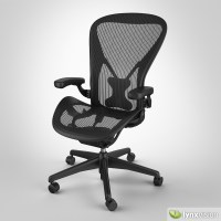 Aeron Chair by Herman Miller 3D Model .max .obj .fbx ...