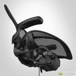 Office Chair Herman Miller Aeron Wheelchair Sign By 3d Model Cgtrader Max Obj Mtl Fbx 2
