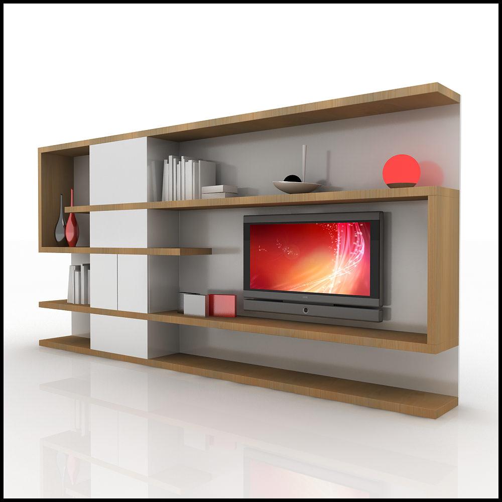 Tv Unit Designs Autocad  Joy Studio Design Gallery  Best