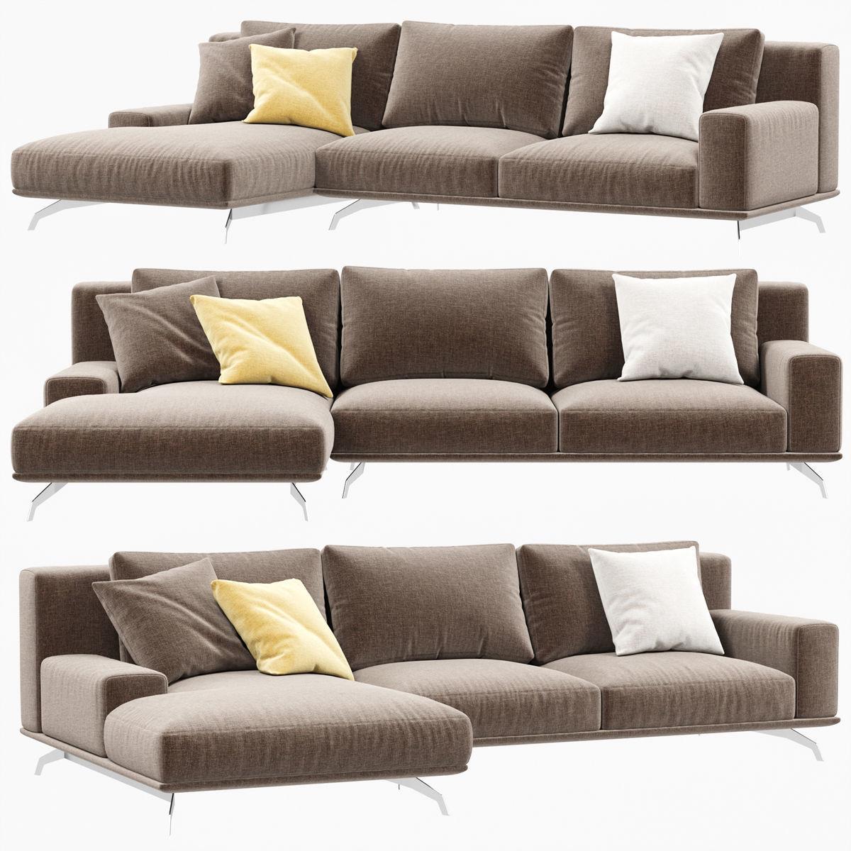 dalton sofa bed mart grand rapids mi 3d model ditreitalia cgtrader