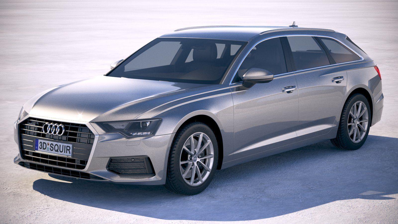 3D model Audi A6 Avant 2019 | CGTrader