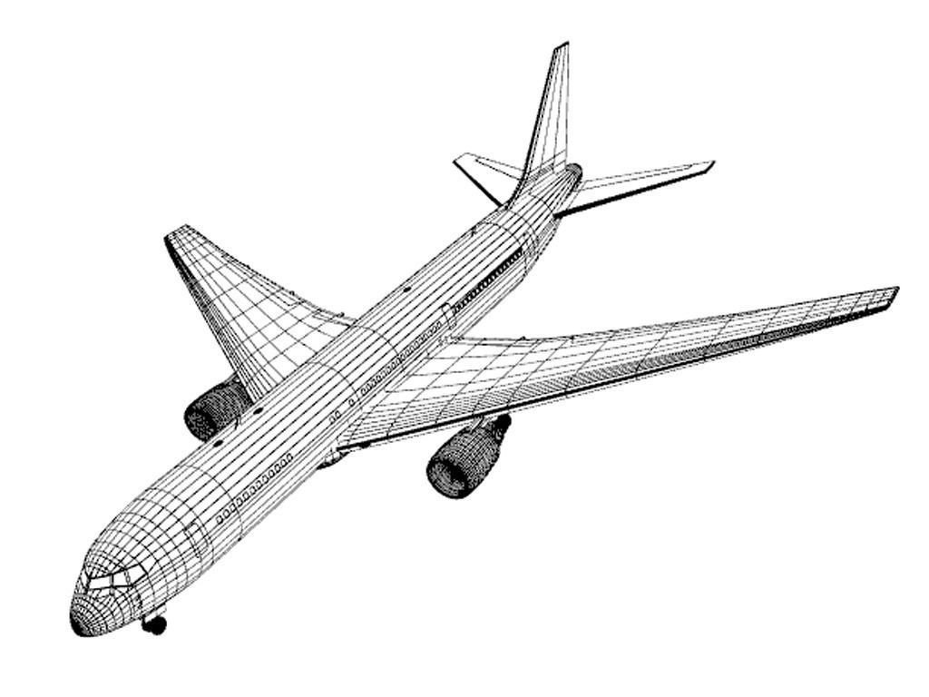 B767 Air Pacific 3D Model .max .obj .3ds .c4d .lwo .lw