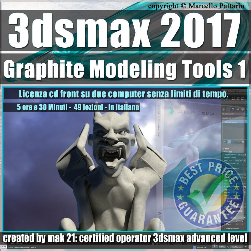018 3ds max 2017 Graphite Modeling Tools1 vol 18 cd
