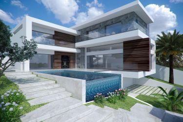 exterior minimalist modern 3d building models cgtrader turbosquid private