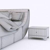 woodways bossa nova bedroom set 3D Model .max .obj .fbx ...