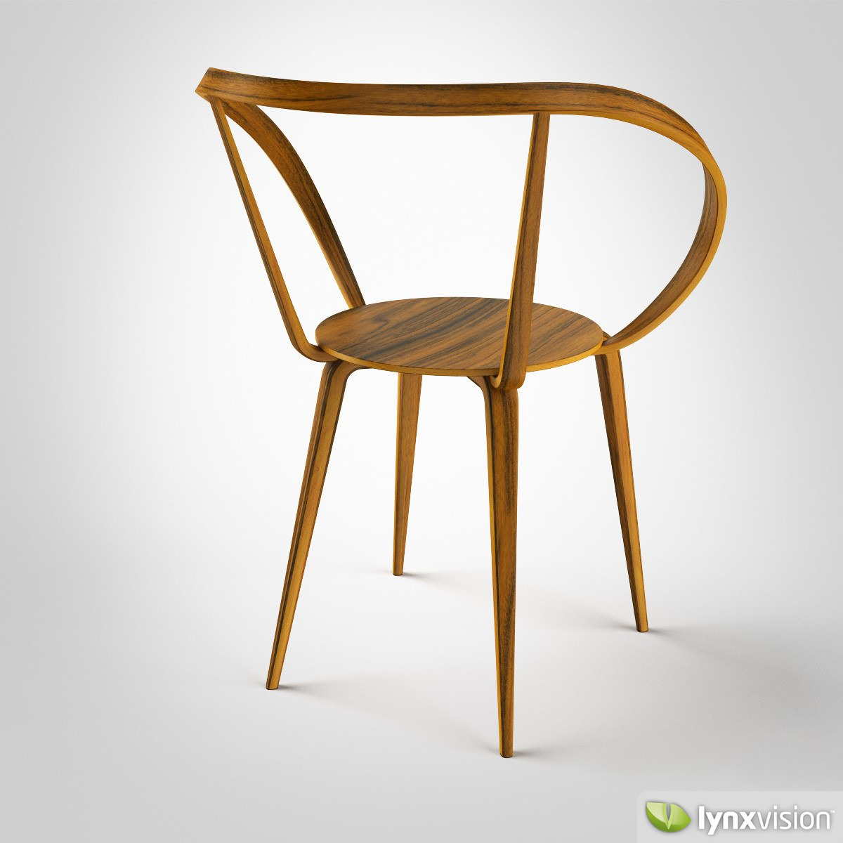Pretzel Chair Pretzel Chair By George Nelson 3d Model Max Obj Fbx