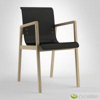 Hallway Chair 403 3D Model MAX OBJ 3DS FBX MTL | CGTrader.com