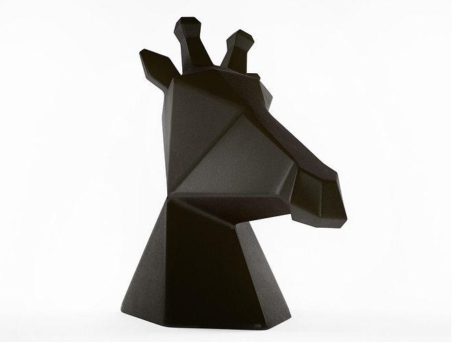 Giraffe Bronz 3d Model Cgtrader