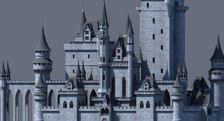 3D model Fantasy Castle 002 CGTrader