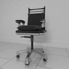 Revolving Chair Parts Hyderabad Acapulco Set Rotating 1 3d Model Blend Cgtrader