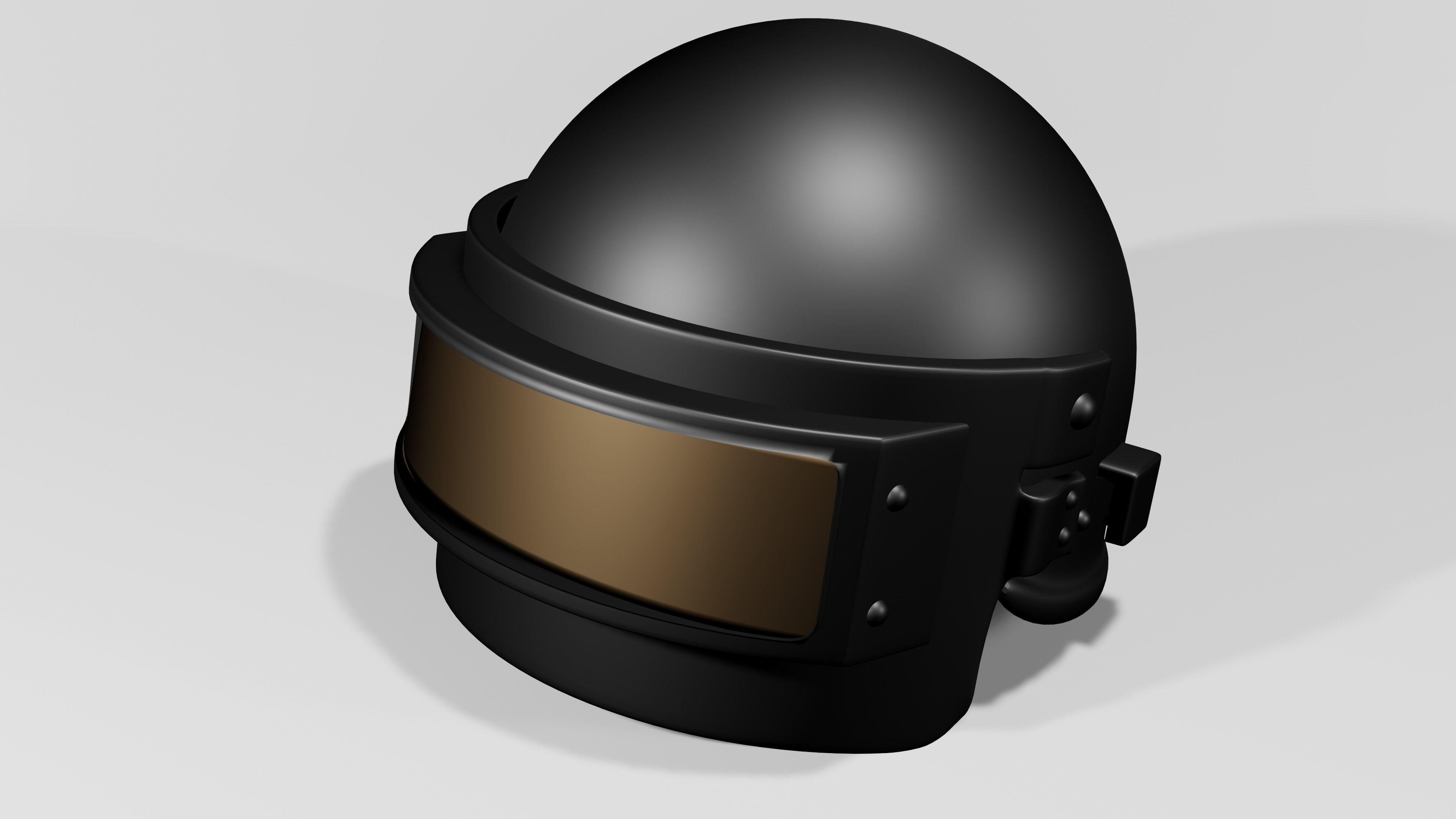 Spetsnaz Helmet - PUBG Level 3 Helmet 3D | CGTrader