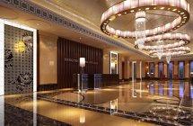 Modern Hotel Interior Halls