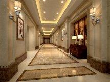 Luxury Corridor Hall 3d Model .max