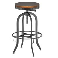 Industrial Vintage Bar Stool Black 3D Model .max .obj .fbx ...