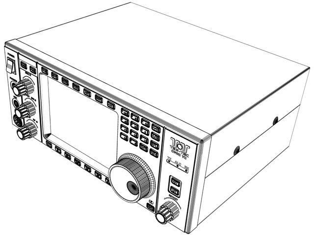 Ten-Tec Omni VII Transceiver 3D Model .max .obj .3ds .stl