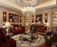 Luxury living room 3D Model MAX   CGTrader.com