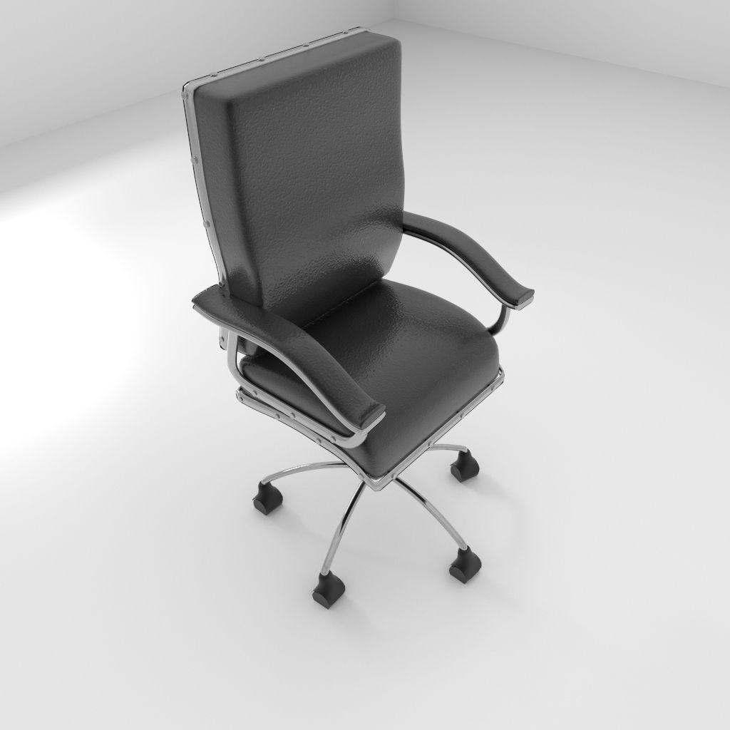revolving chair parts hyderabad wedding cover hire shrewsbury rotating 2 3d model obj 3ds fbx blend dae x3d