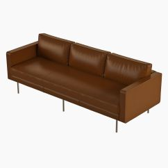 West Elm Leather Sofa Reviews Donate A To Salvation Army Uk Axel 3d Model Max Obj Fbx Cgtrader