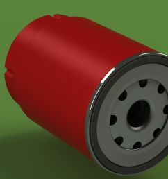 mann pl270 disel fuel filter 3d model sldprt sldasm slddrw 2  [ 1920 x 1080 Pixel ]